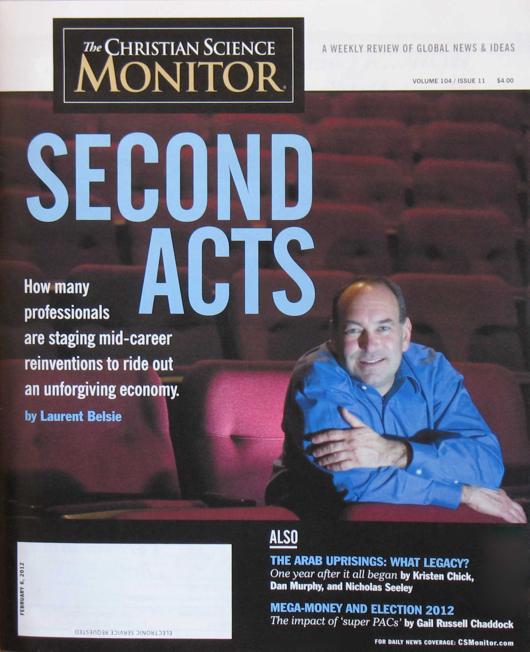 Ivy League comedian Shaun Eli is the cover story in the Christian Science Monitor